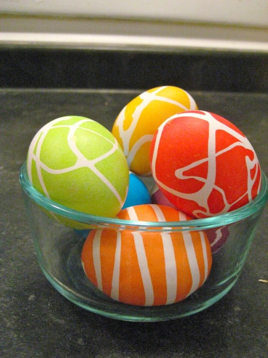 Rubber Cement Easter Eggs_2