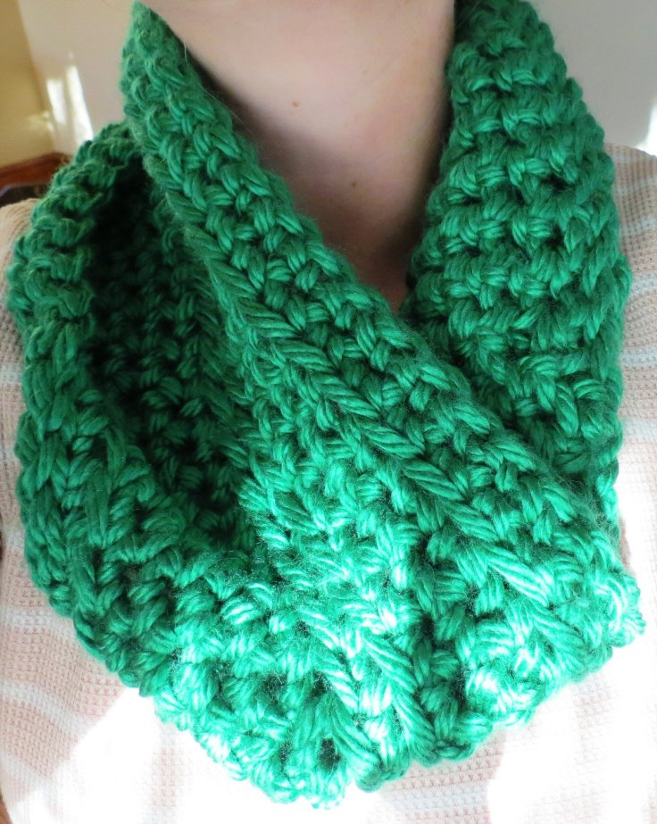Just A Girl with String - Infinity scarf, $18.50