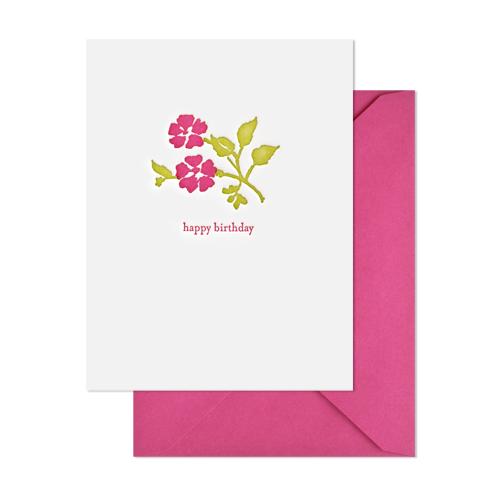Birthday Floral, $6