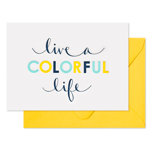 Life Colorful, $6