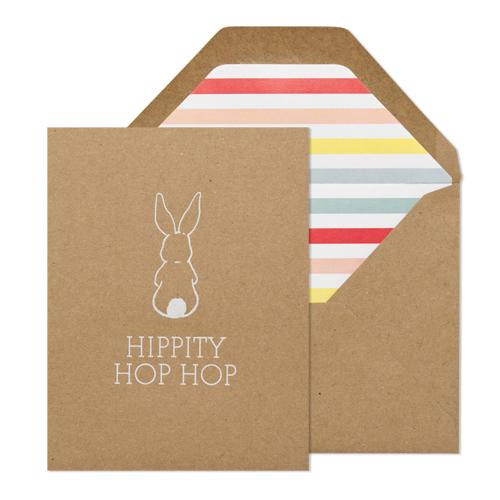 Sugar Paper - Hippity Hop Card, $6
