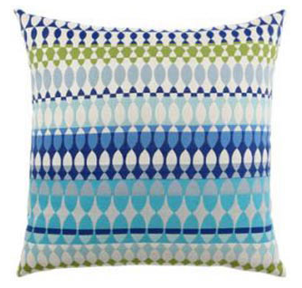 "Elaine Smith - 20"" Acapulco Outdoor Pillow, $106"