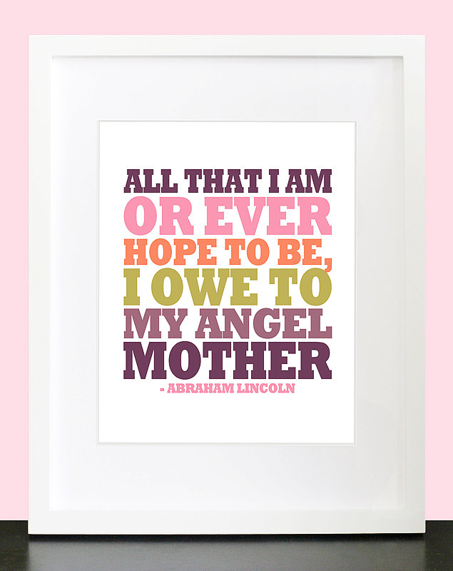 I owe to my mother quote