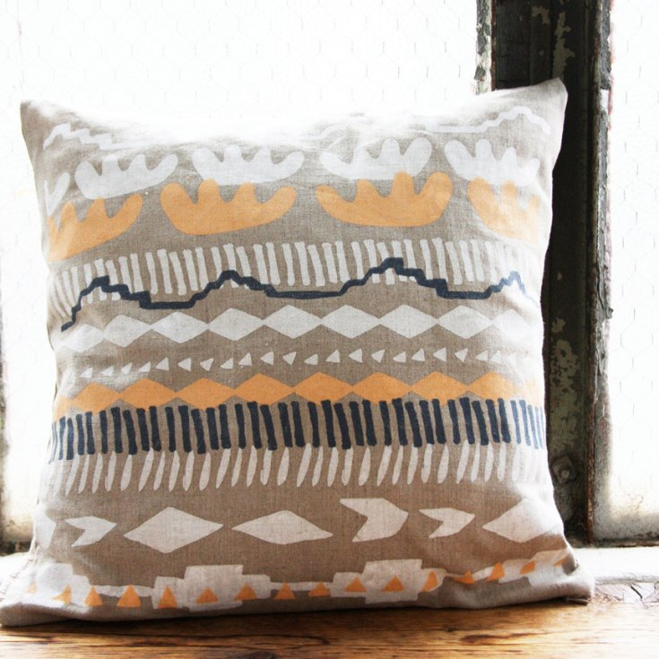"Marfa 16"" Pillow Cover, $40"