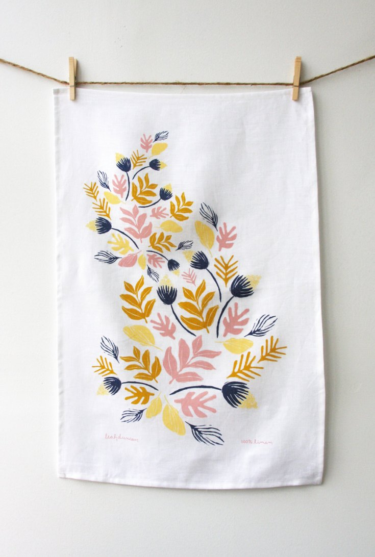 Sprouts Tea Towel, $24