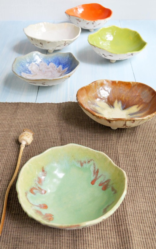 Lee Wolfe Ceramic Bowls