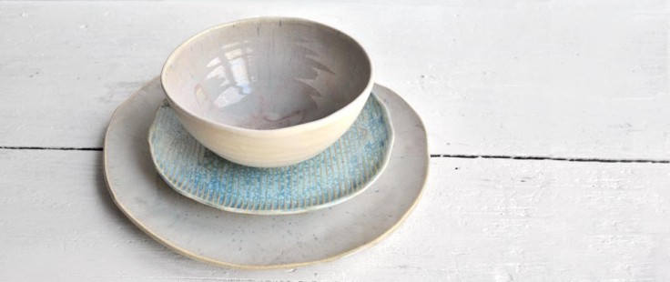 Moonshadow Dinnerware, set of 3, $95
