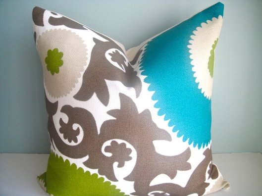 """Simply Divine - Set of 2 -16"""" Indoor/Outdoor Pillows, $64"""