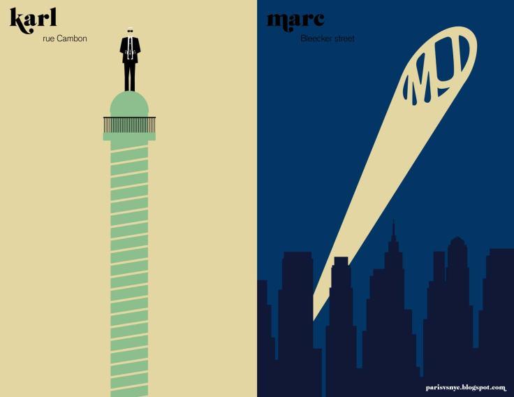 Paris vs NYC_Fashion superheros