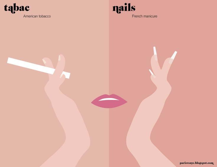 Paris vs NYC_Nails