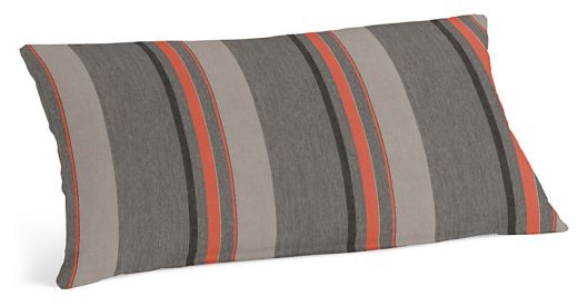 "Room and Board - Sol Striped 30'x13"" Outdoor Pillow, $40"