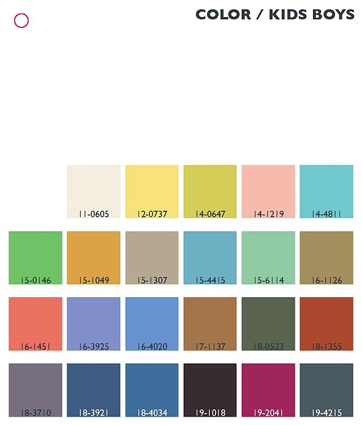 SS14 Color Trend_Boys