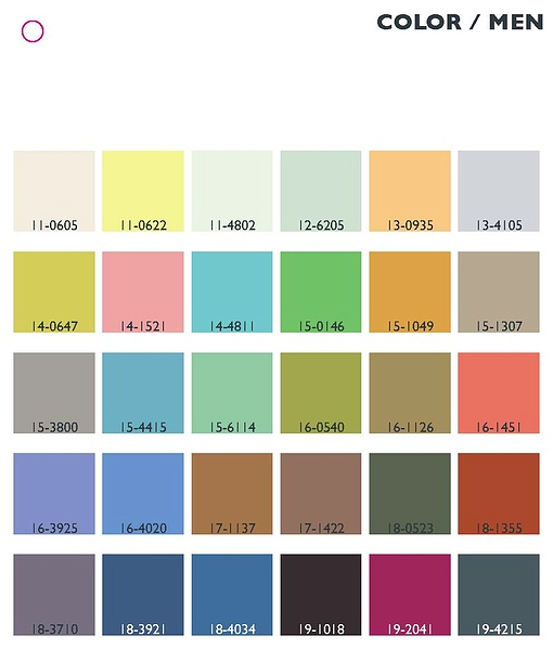 SS14 Color Trend_Men