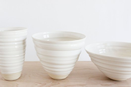 Set of 3 Nesting Bowls, $220