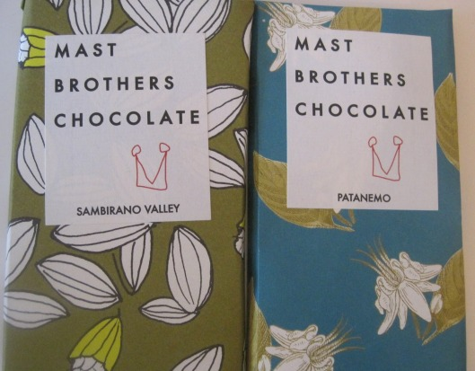 Mast Brothers - Chocolate Bars, 5 for $40 or $10 each
