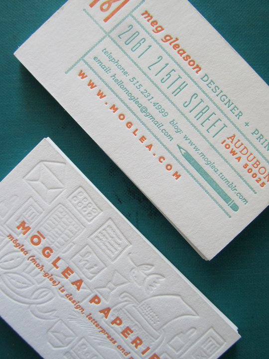 Moglea Biz Cards