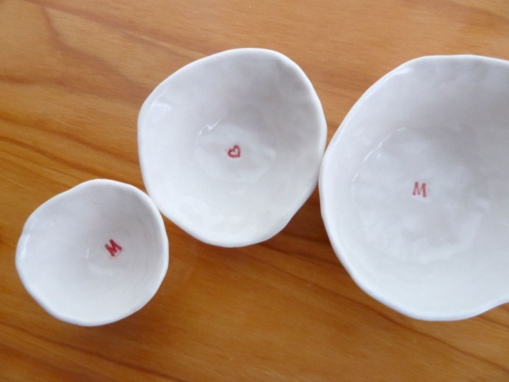 "Bailey Bowl - Set of 3 ""Mom"" nested mini bowls, $26"