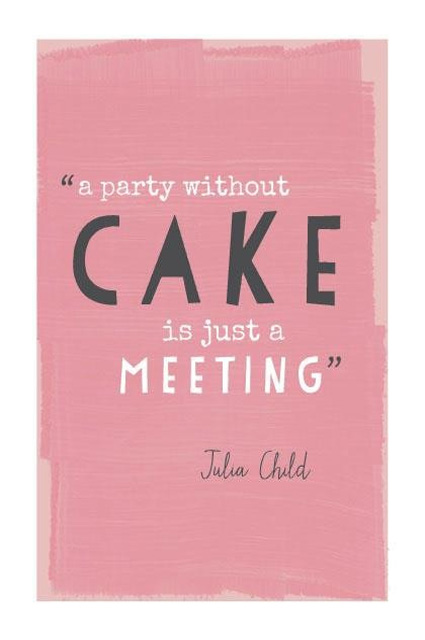 Party without Cake Julia