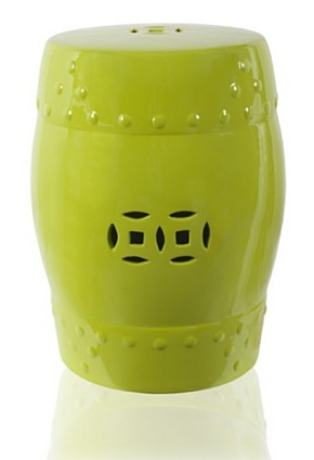 A&B Home - Green Garden Stool, $89.99