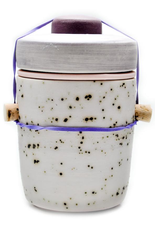 Small Jar in Blueberry Yogurt, $85