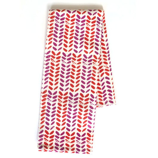 Set of 2 Tea Towels, Leaves, $25