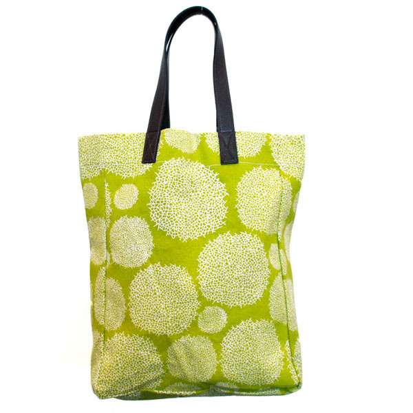 Canvas Tote Bag, Lattice, $36