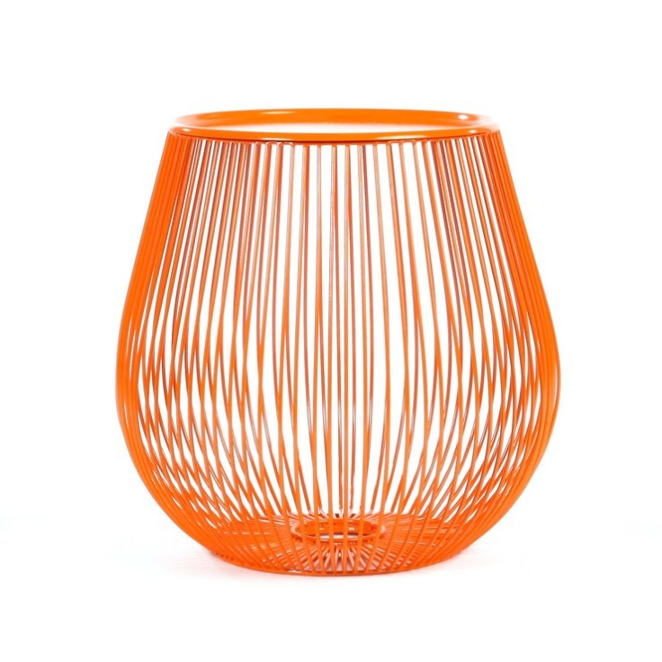 Fab - Bongo Orange Side Table, $95