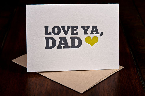 Ink Meets Paper - Love Ya Dad, $4