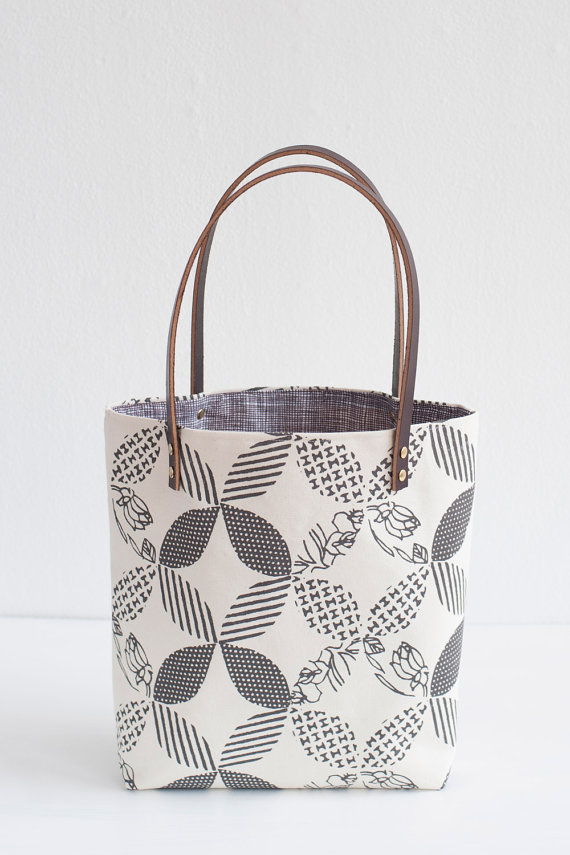 Double Wedding Ring Tote Bag, $87