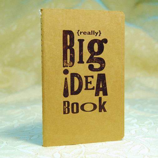 Two Hand Design - Big Idea Book, $7