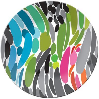 Twist Round Platter, $15