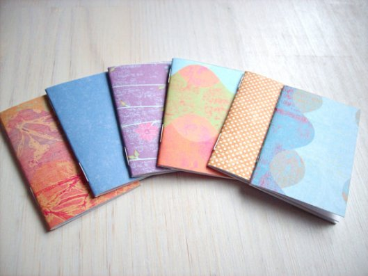 Ordinary Artist - set of 6 tiny journals, $5