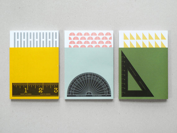 Present and Correct - Geometry jotter set of 3, $8