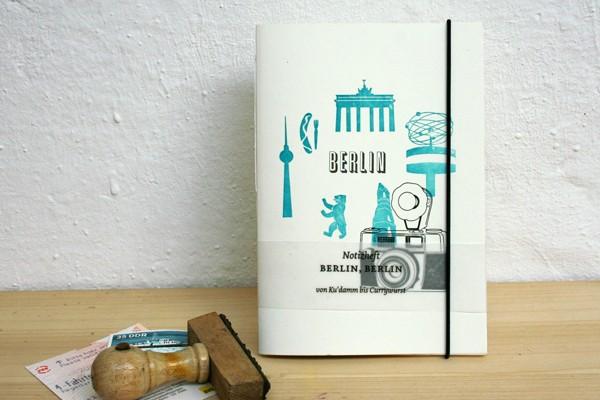 Small Caps Berlin - Mini Notebook, $10