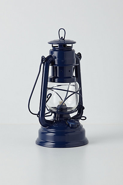 Anthropologie - Glass Globe Oil Lantern, $40