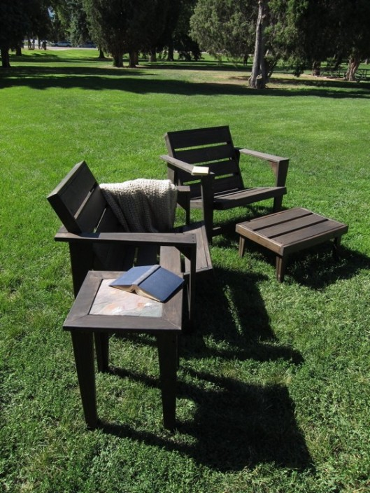 Nyend Designs - Adir Modern Cedar Adirondak Chair, $360