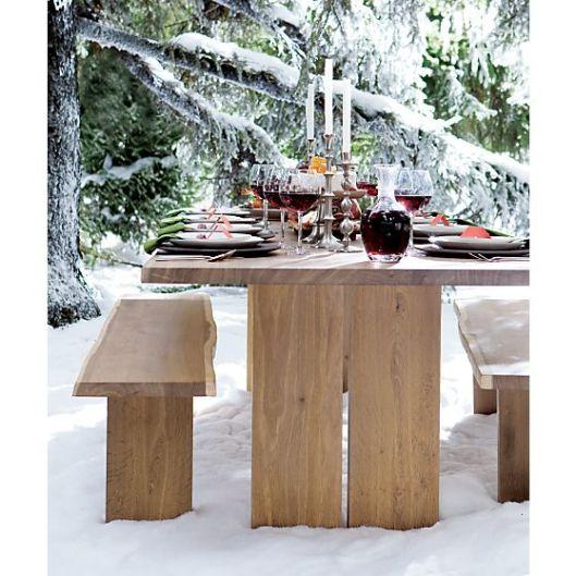 Crate & Barrel - Dakota Dining Table, $1499