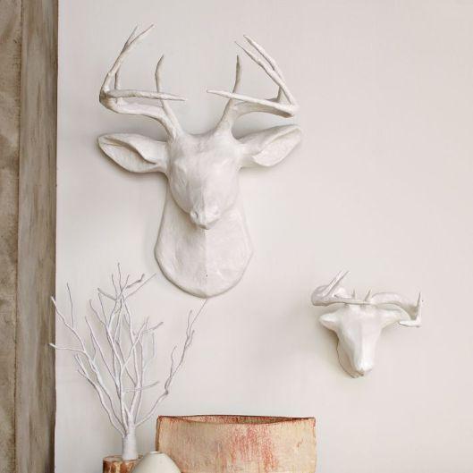 West Elm - Papier-Mâché Animal Sculptures, $19 - $199