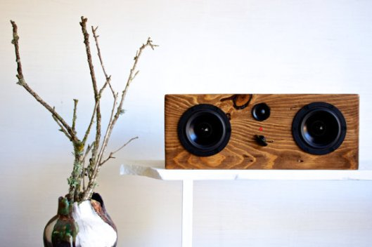 Salvage Audio - Reclaimed Wood Bluetooth Speakers, $349