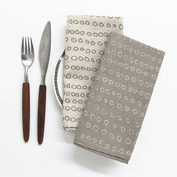 Abacus Napkins, set of 2 $22