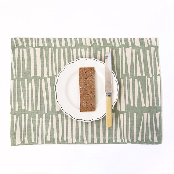 Woodpile Placemat, set of 2 $25