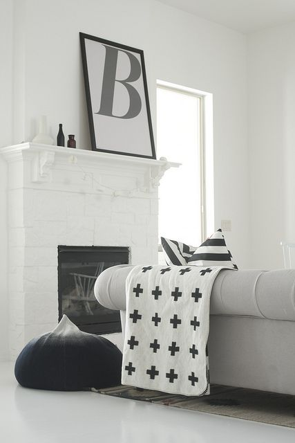 HAUS - Reversible Wool Blanket by Pia Wallen, £159