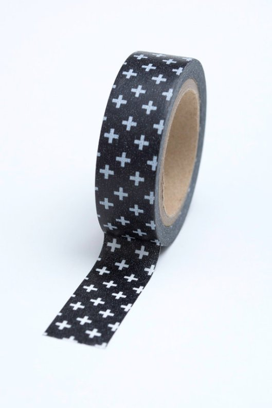 In The Clear - Swiss Cross Washi Tape, $3.30