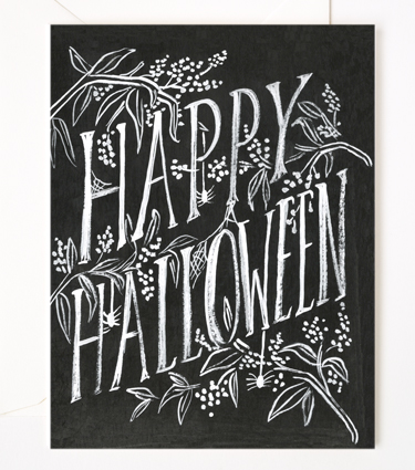 Rifle Paper - Scratchy Halloween Card, $4.50