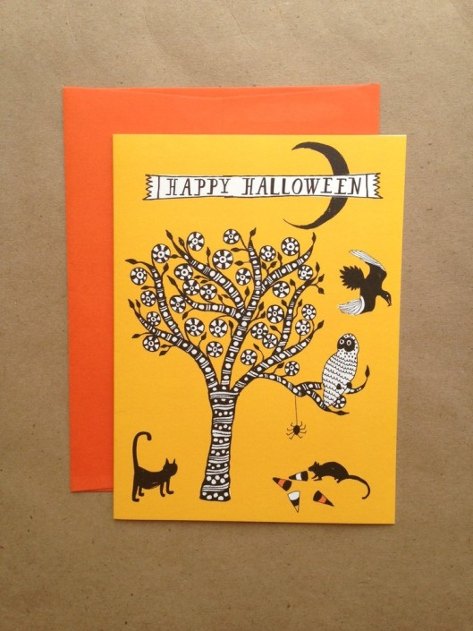 Mr. Boddington's Studio - Spooky Tree, $5.95