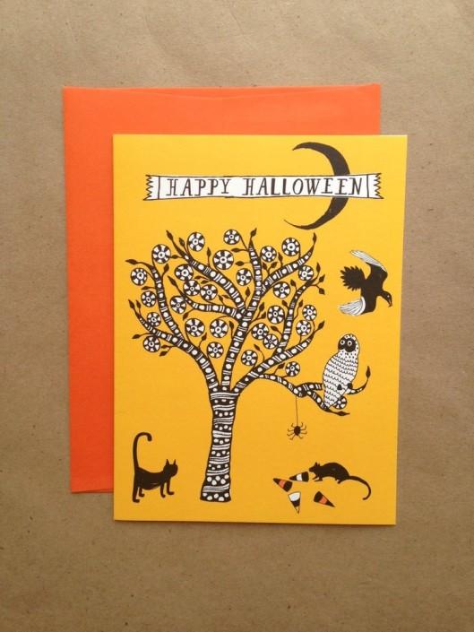 Mr. Boddington's Studio - Spooky Tree, $5.95