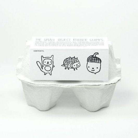 Woodland Pals Rubber Stamp Set, $18