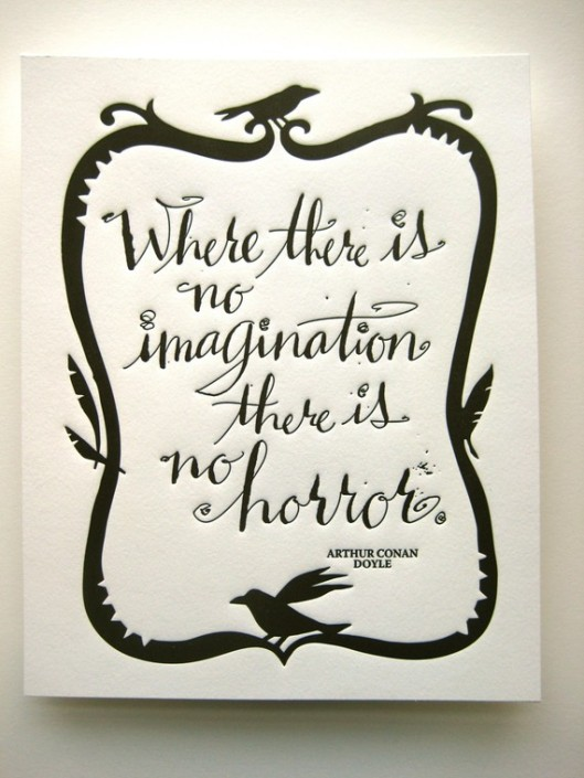 Where there is no imagination