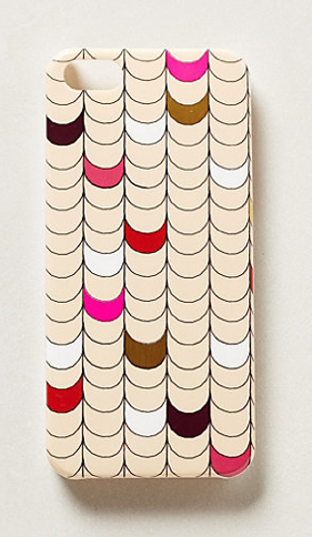 Anthropologie - Scalloped iPhone 5 Case, $28