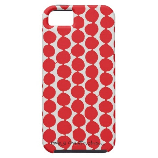 Hable Construction - Cherry Beads iPhone 5 Case, $47